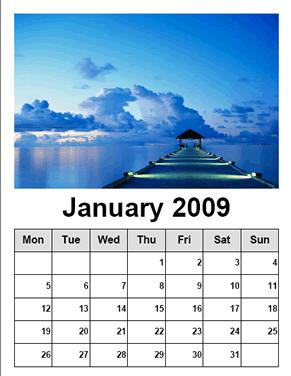 Calendario con tus fotos con Free Photo Calendar - calendario-paraimprimir