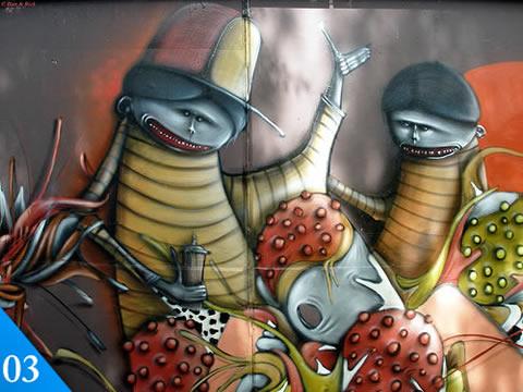 Graffiti, 50 graffitis creativos - graffitis-3