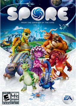sporebox Los 10 juegos de PC mas pirateados en 2008