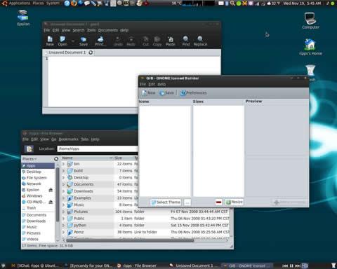 temas ubuntu 1 Temas ubuntu, 50 temas gnome para descargar