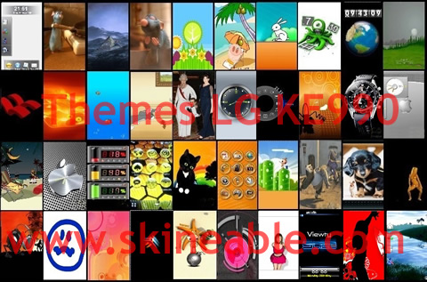 Los mejores temas de Noviembre en Skineable - themes-lg-ke990-gratis