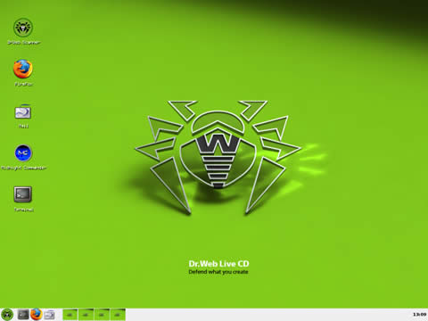 antivirus booteable dr web Eliminar virus con Dr.Web LiveCD