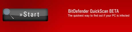 Antivirus gratis online, BitDefender QuickScan - antivirus-en-linea