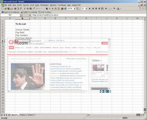 ocultar paginas trabajo Ocultar paginas y videos en el trabajo con Double Vision