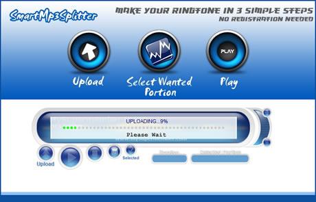 tonos celulares Tonos para celular, crealos en SmartMp3Splitter