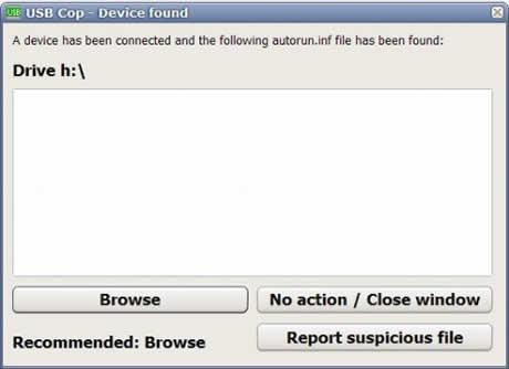 Virus usb, protegete con USB Cop - virus-usb-usb-cop