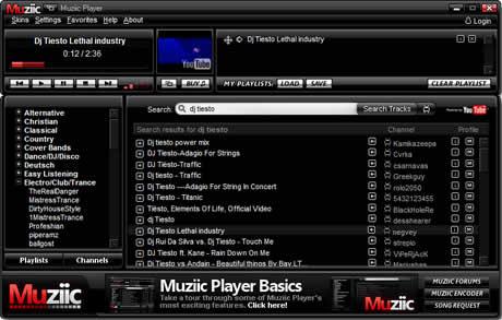 escuchar musica youtube Escuchar musica de videos de YouTube con Muziic