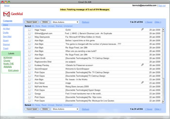 programa gmail Gmail en tu escritorio con GeeMail