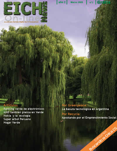 Revista online Eichnews 3ra edicion disponible - revista-online-tecnologia