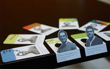 Tarjetas de presentacion creativas, 60 diseños que te gustaran - tarjetas-presentacion