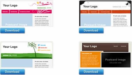 Plantillas para boletines gratis en Sendn - templates-boletines