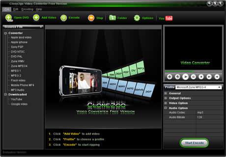 convertir videos gratis Convertir videos con Clone2go