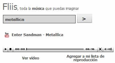 musica online youtube Musica online y videos de musica en Fliis