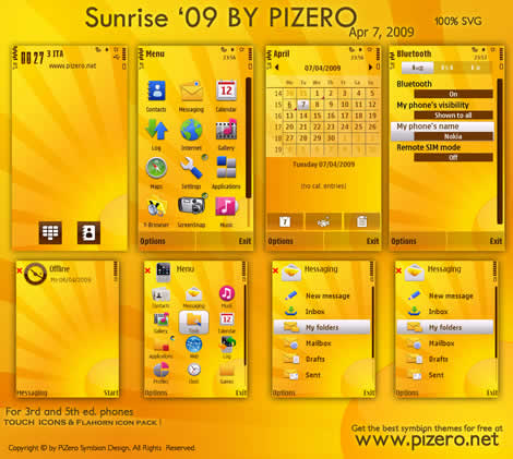 Temas nokia, Sunrise 09 - themes-nokia-sunris09