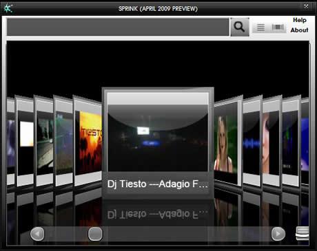 Videos de Youtube en tu escritorio con Sprink - videos-youtube