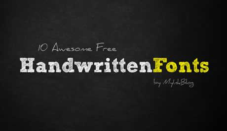 fuentes cursivas gratis Fuentes manuscritas, 10 excelentes fuentes gratis