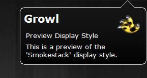 Growl para Windows, alertas tipo mac - growl-for-windows