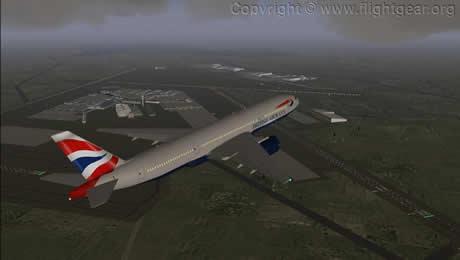 Simulador de vuelo, FlightGear - simuladores-de-vuelo-gratis