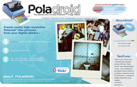 Efectos de fotos tipo Polaroid con Polaroid Project - efectos-de-fotos