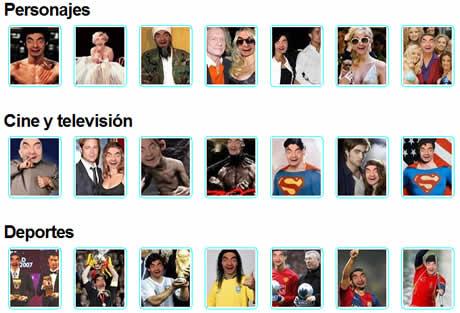 fotomontajes divertidos Fotomontajes y otros efectos en FotoEfectos