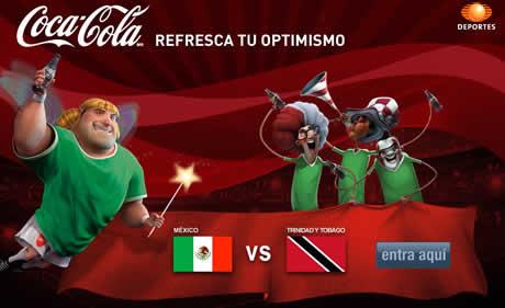 Mexico vs Trinidad y Tobago en vivo por internet - mexico-vs-trinidad-en-vivo-televisa