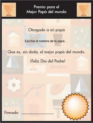 Tarjetas del dia del padre y otros regalos por HP - regalos-dia-del-padre