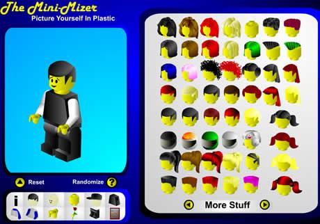 Avatares tipo lego en Mini-Mizer - avatares-lego