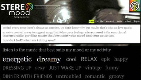 Escuchar musica segun tu estado de animo en Stereo Mood - escuchar-musica-stereo-mood