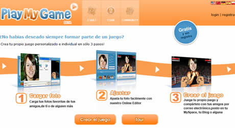 juegos en linea Juegos online, crealos con PlayMyGame