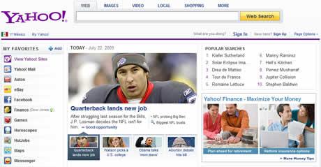 Yahoo cambia su pagina inicial - yahoo-inicio