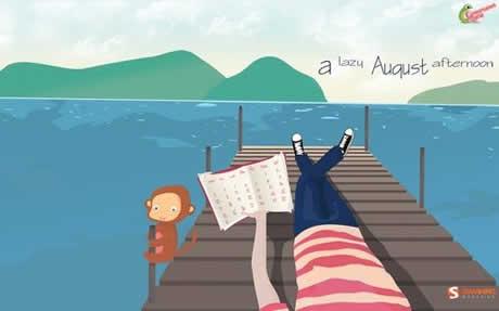 calendario agosto 2009 wallpaper Calendario Agosto 2009, 50 fondos de Agosto