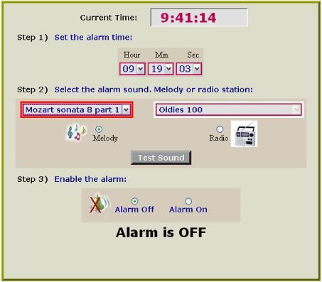MusicAlarmClock despierta con Música en las mañanas - musicalarmclock
