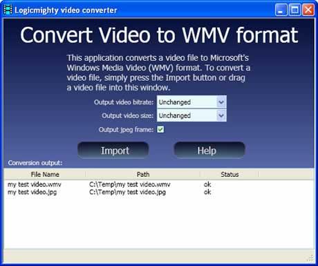 convertir videos wmv Convertir videos a WMV con ConvertToWMV