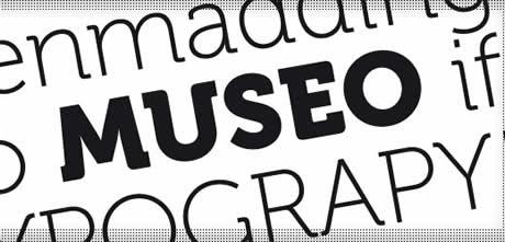 Fuentes gratis ideales para diseño de logos - fuentes-gratis-museo