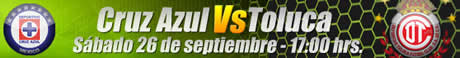 futbol online cruz azul toluca Futbol mexicano online, Jornada 10 Apertura 2009