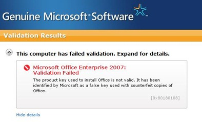 eliminar validacion office Eliminar OGA, Office Genuine Advantage