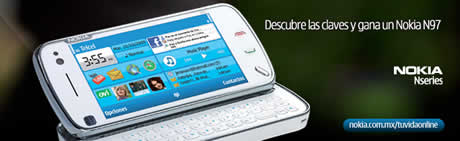 Nokia N97, participa y gana un Nokia N97 - nokia-n97-concurso