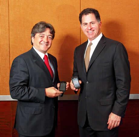 Michael Dell y Joao Cox Dell confirma su smartphone Mini 3