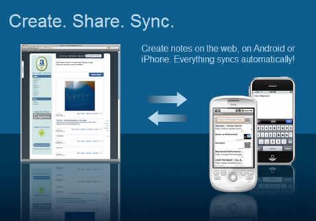 Tomar notas online y sincronizarlas en tu iPhone con 3banana - compartir-notas-3banana