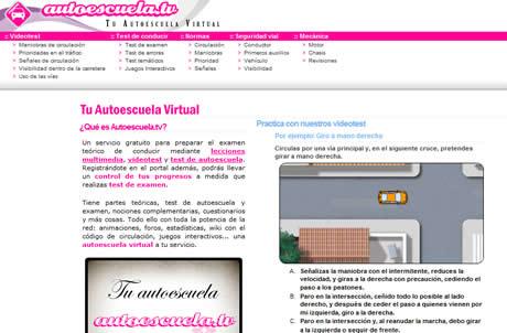 escuela de manejo Escuela de manejo online, Autoescuela.tv