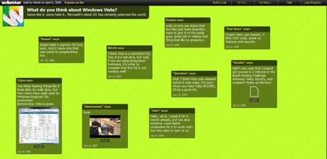 Crea tu muro de notas online con Wallwisher - muro-de-notas-virtual