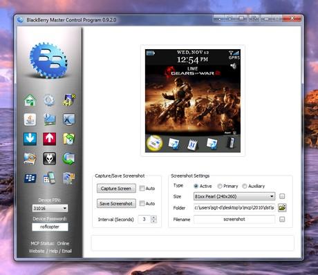 Software blackberry, Blackberry Master Control - software-blackberry-blackberry-master