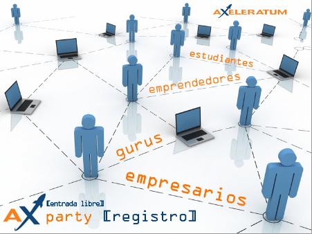 Axeleratum Party evento digital para hacer negocios