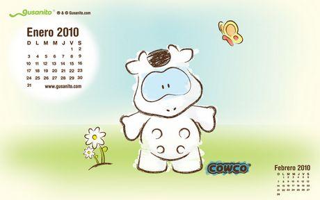 Calendario 2010 de Gusanito.com - calendario-2010-gusanito
