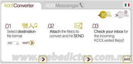 convertir archivos Convertir archivos con KoolWire