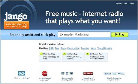 escuchar musica Escuchar música gratis en Jango.com