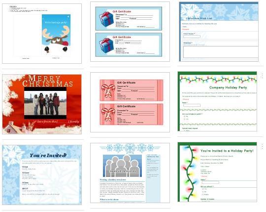 Plantillas de navidad Google Docs - plantillas-de-navidad-google-docs