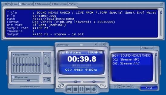 reproductor de musica con xmplay Reproductor de música con XMPlay