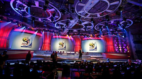sorteo mundial escenario Mundial Sudáfrica 2010 Sorteo Final