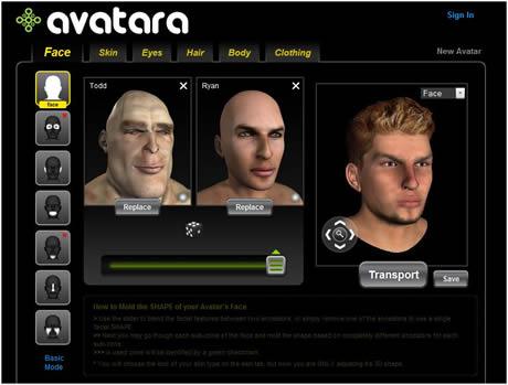 Avatar 3D animado crealo en avatara.com - avatar-3d